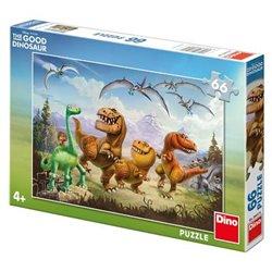 Obálka titulu Puzzle Hodný dinosaurus:Arlo a kamarádi 66 dílků