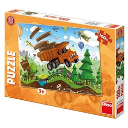 Obálka titulu Puzzle Tatra na cestách 100 XL dílků
