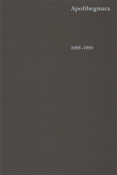 Obálka titulu Apofthegmata 1983–1990