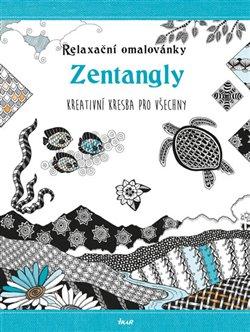 Obálka titulu Relaxační omalovánky: Zentangly