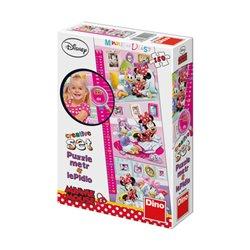 Obálka titulu Puzzle Minnie: Dětský metr150 dílků panoramatic