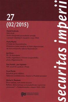 Obálka titulu Securitas Imperii 27 (2/2015)