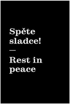 Obálka titulu Spěte sladce! / Rest in peace