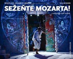 Obálka titulu Sežeňte Mozarta! S fotografiemi Jiřího Kottase.