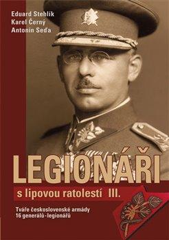Obálka titulu Legionáři s lipovou ratolestí III.