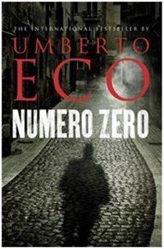 Obálka titulu Numero Zero