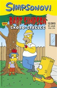 Obálka titulu Bart Simpson 12/2015: Skoro-střelec