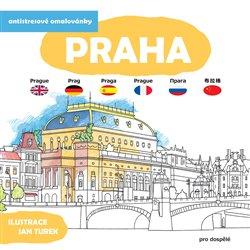 Obálka titulu Antistresové omalovánky - Praha