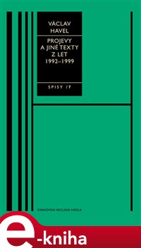 Obálka titulu Projevy a jiné texty z let 1992–1999