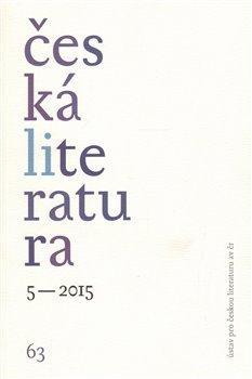 Obálka titulu Česká literatura 5/2015