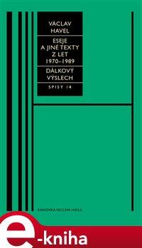 Obálka titulu Eseje a jiné texty z let 1970–1989, Dálkový výslech