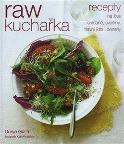 Obálka titulu RAW kuchařka