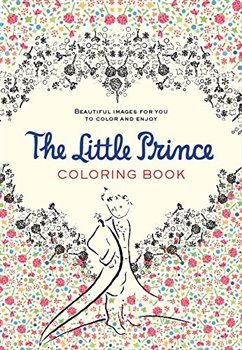 Obálka titulu The Little Prince Colouring Book