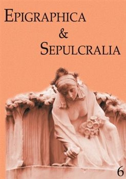 Obálka titulu Epigraphica & Sepulcralia 6
