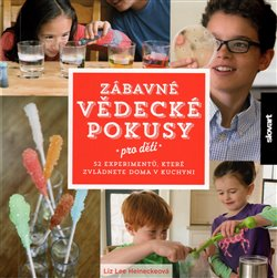 Obálka titulu Zábavné vědecké pokusy pro děti