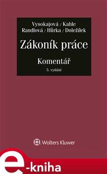 Obálka titulu Zákoník práce - Komentář - 5. aktualizované vydání