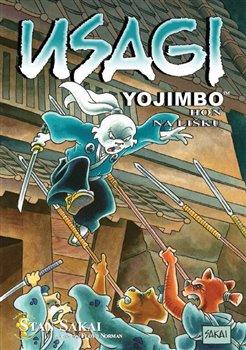 Obálka titulu Usagi Yojimbo 25: Hon na Lišku