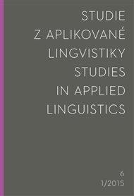 Studie z aplikované lingvistiky 2015/1