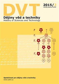 Obálka titulu Dějiny věd a techniky 2/2015