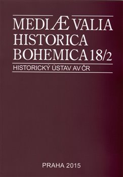 Obálka titulu Mediaevalia Historica Bohemica 18/2