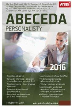 Obálka titulu Abeceda personalisty 2016