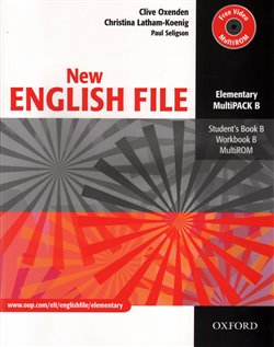 Obálka titulu New English File Elementary Multipack B