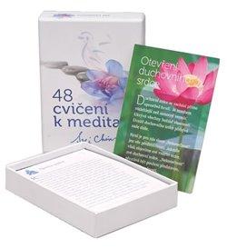 Obálka titulu 48 cvičení k meditaci - Pro začátečníky i pokročilé