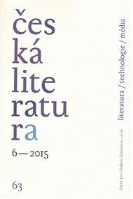Česká literatura 6/2015