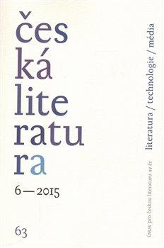 Obálka titulu Česká literatura 6/2015