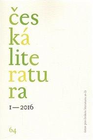 Česká literatura 1/2016