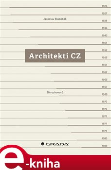 Obálka titulu Architekti CZ