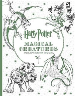Obálka titulu Harry Potter Magical Creatures Coloring Book