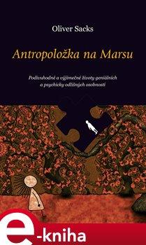 Obálka titulu Antropoložka na Marsu