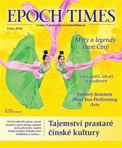 Obálka titulu Epoch Times. Tajemství prastaré čínské kultury