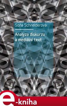 Obálka titulu Analýza diskurzu a mediální text