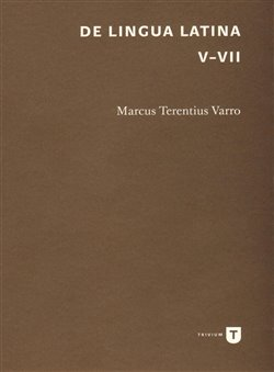 Obálka titulu De lingua Latina V-VII