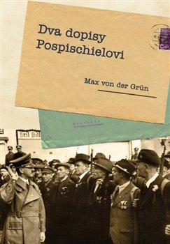 Obálka titulu Dva dopisy Pospischielovi