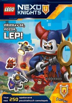 Obálka titulu Lego Nexo Knights – Připrav se, pozor, lep!