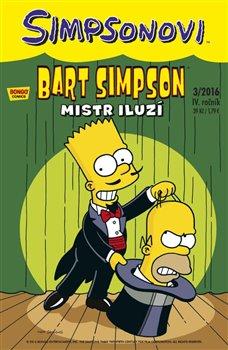 Obálka titulu Bart Simpson 3/2016: Mistr iluzí