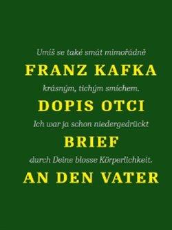 Obálka titulu Dopis otci / Brief an den Vater