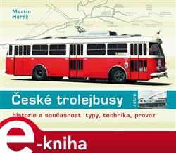 Obálka titulu České trolejbusy