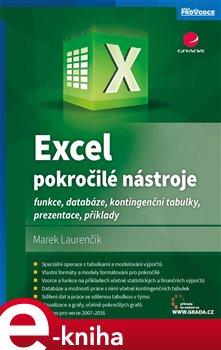 Obálka titulu Excel – pokročilé nástroje
