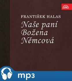 Obálka titulu Naše paní Božena Němcová