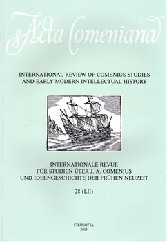 Obálka titulu Acta Comeniana 28
