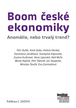 Obálka titulu Boom české ekonomiky: anomálie, nebo trvalý trend?
