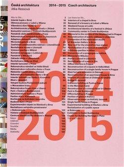 Obálka titulu Česká architektura 2014-2015