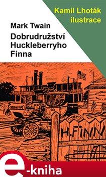 Obálka titulu Dobrodružství Huckleberryho Finna