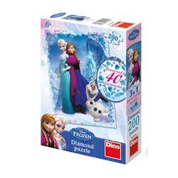 Obálka titulu Puzzle Diamond Frozen 200dílků