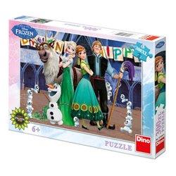 Obálka titulu Puzzle Frozen Narozeniny 300XL dílků
