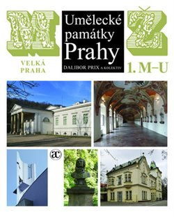 Obálka titulu Umělecké památky Prahy